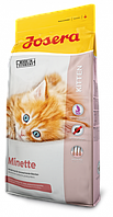 Josera Minette 10 кг-сухой корм для котят, беременных и кормящих кошек