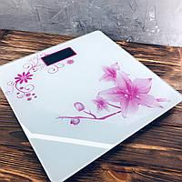 Весы напольные Domotec MS-1604 Белые, фото 1