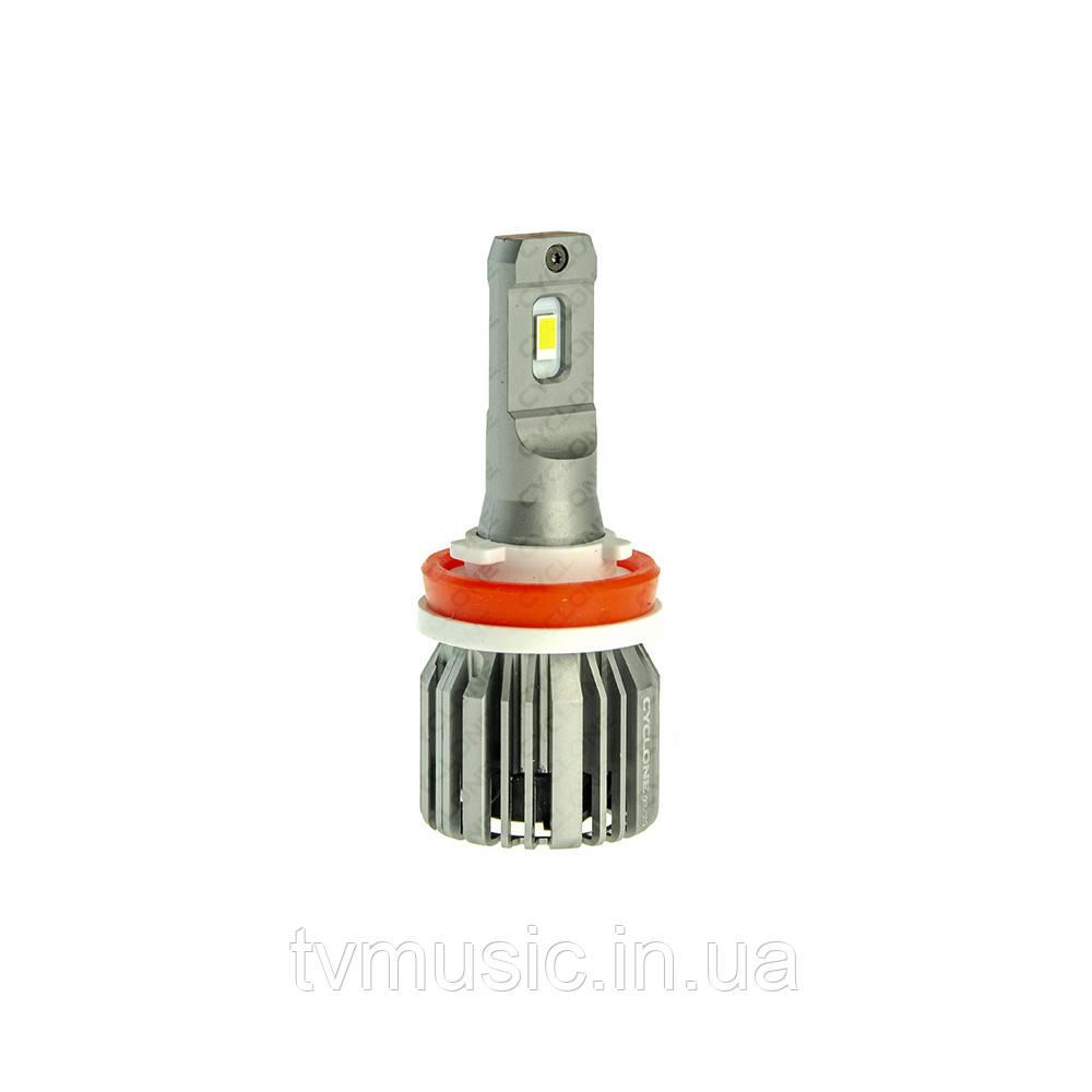 LED лампа CYCLONE H11 5700K 6000Lm Type 31