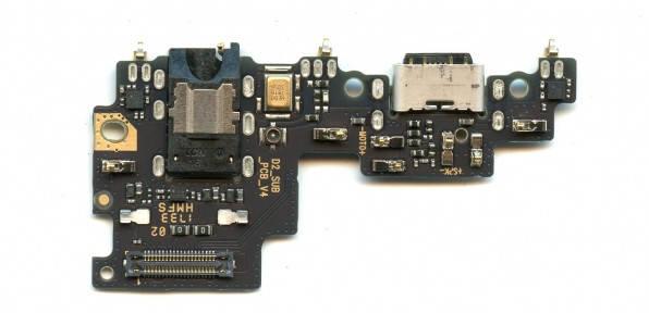 Нижняя плата Xiaomi Mi A1, Mi5x с разъемом зарядки, наушников и микрофоном, фото 2