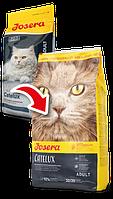 Josera Catelux 2 кг-сухой корм для кошек с уткой и картофелем для выведения шерсти
