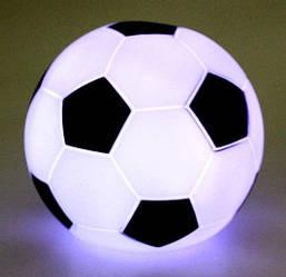 Нічник світильник футбольний м'яч (автоматично змінюються кольори при включенні)