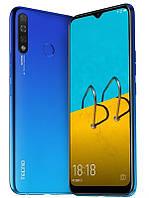 "Смартфон Tecno Spark 4 3/32 (KC2) Dual Sim Vacation Blue (4895180751073); 6.52"" (1600х720) IPS / MediaTek Helio A22 / ОЗУ 3 ГБ / 32 ГБ встроенной +"