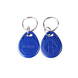 Ключ бесконтактный RFID в виде брелка с номером EM4100 125KHz
