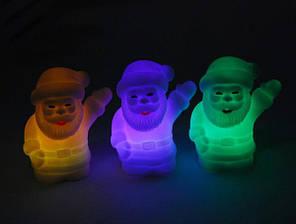 Ночник светильник Дед Мороз (автоматически меняются цвета при включении)