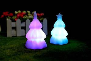 Ночник светильник Елка (автоматически меняются цвета при включении)