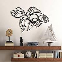 Декоративне металеве панно Рибка, фото 1