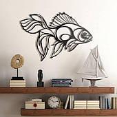 Декоративне металеве панно Рибка