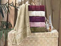 Pupilla полотенца для сауны 90x150 в наборе (бамбук) 6-шт