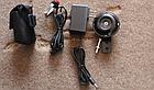 Мембранний електро вело / мото клаксон / гудок / сигнал 120 Дб 12V на кнопці з блоком акумуляторів 2500 мАч), фото 3