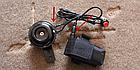 Мембранный электро вело / мото клаксон / гудок / сигнал 120 Дб 12V на кнопке (с блоком аккумуляторов 2500 мАч), фото 5