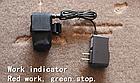 Мембранный электро вело / мото клаксон / гудок / сигнал 120 Дб 12V на кнопке (с блоком аккумуляторов 2500 мАч), фото 6