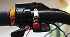 Мембранный электро вело / мото клаксон / гудок / сигнал 120 Дб 12V на кнопке (с блоком аккумуляторов 2500 мАч), фото 7
