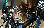 Мембранный электро вело / мото клаксон / гудок / сигнал 120 Дб 12V на кнопке (с блоком аккумуляторов 2500 мАч), фото 10