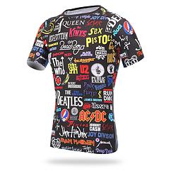 """Спортивная / вело футболка / джерси ТМ """"XINTOWN"""" """"ROCK IS"""" L"""
