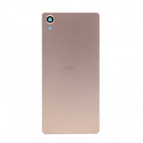 Задняя крышка Sony F5121 Xperia X, F5122 розовая, Rose Gold Оригинал Китай, фото 2