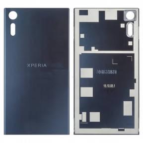 Задняя крышка Sony F8331 Xperia XZ, F8332 синяя Оригинал Китай, фото 2