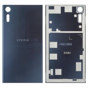 Задняя крышка Sony F8331 Xperia XZ, F8332 синяя Оригинал Китай
