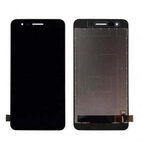 Дисплей LG X230 K7 (2017) с сенсором (тачскрином) черный Оригинал Китай