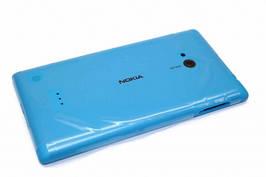 Задняя крышка Nokia Lumia 720 голубая