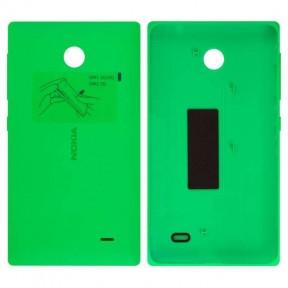 Задняя крышка Nokia X Dual Sim (RM-980) зеленая Оригинал Китай