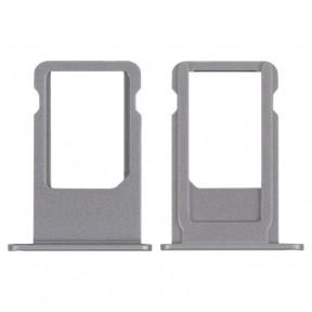 Держатель SIM-карты Apple iPhone 6S Plus серый