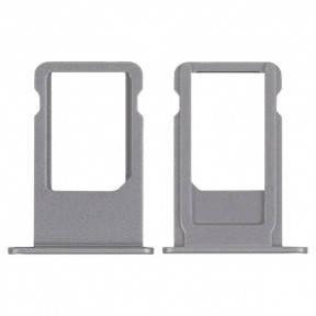 Держатель SIM-карты Apple iPhone 6S Plus серый, фото 2