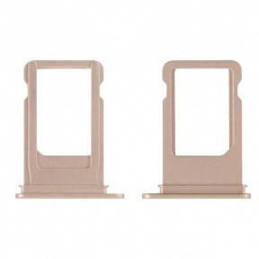 Держатель SIM-карты Apple iPhone 7 Plus золотистый, фото 2