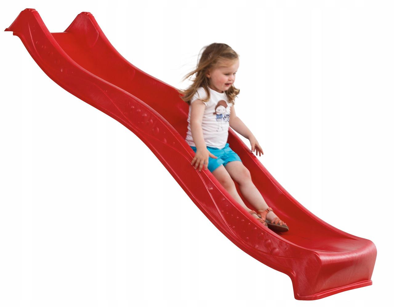 Горка спуск KBT Yulvo для детей 2,2 м. Красная