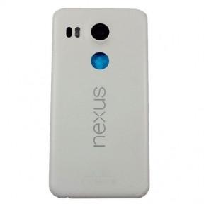 Задняя крышка LG H791 Nexus 5X белая Оригинал Китай