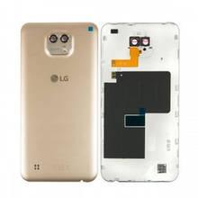 Задняя крышка LG K580 X Cam золотистая Оригинал Китай
