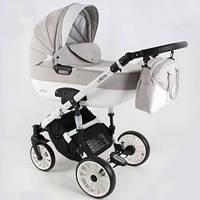 Универсальная детская коляска 3в1 ADBOR OTTIS WHITE OW-03