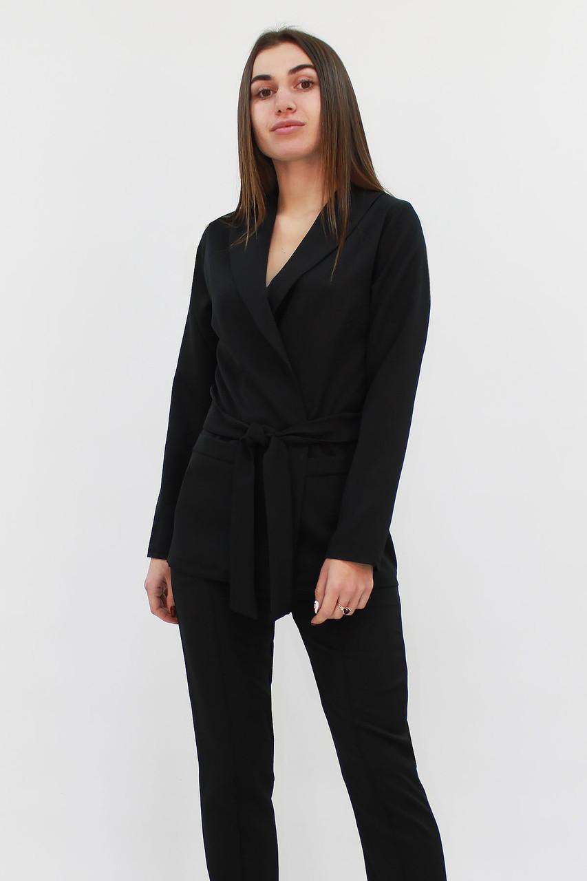S (42-4) /  Стильний жіночий костюм Mango, чорний