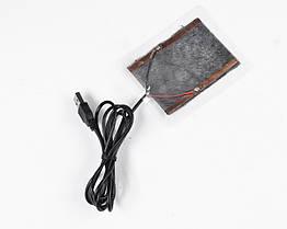 Нагревательные элементы в перчатки / одежду с питанием от USB до 50 градусов №2 - 1 X 8*6 см, ламинат, USB