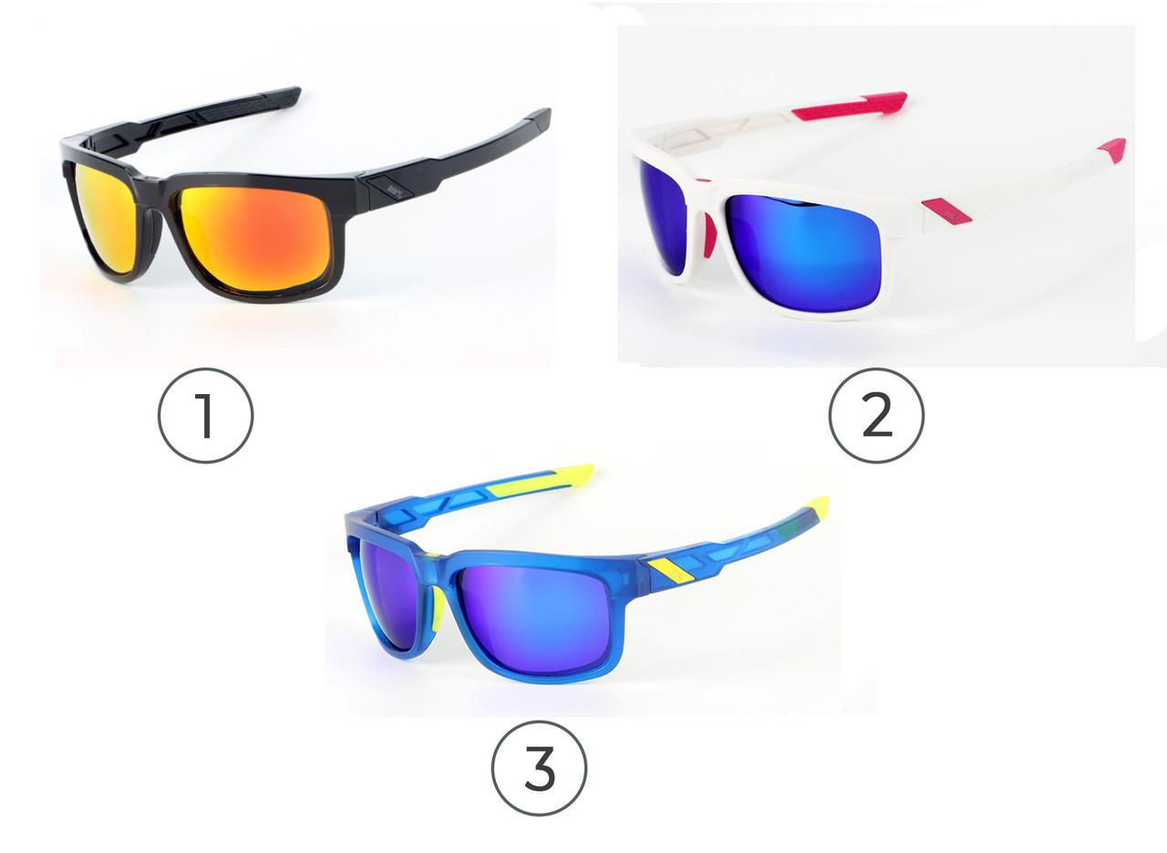 Спортивные / мото / вело-очки солнцезащитные c ПОЛЯРИЗАЦИЕЙ OAKLEY «TYPE-S» (реплика)