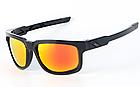 Спортивные / мото / вело-очки солнцезащитные c ПОЛЯРИЗАЦИЕЙ OAKLEY «TYPE-S» (реплика), фото 5