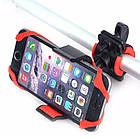 Держатель / крепление силиконовое универсальное для телефона / смартфона на вело-руль, фото 3