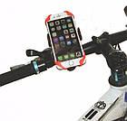 Держатель / кріплення силіконове універсальне для телефону / смартфона на вело-кермо, фото 4