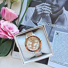 Женские наручные часы в стиле Pandora серебро. Наручные кварцевые часы из нержавеющей стали. Годинник жіночій, фото 3