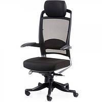 Кресло для руководителя FULKRUM, Black, Mesh & fabric 09264, фото 1