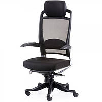 Крісло для керівника FULKRUM, Black, Mesh & fabric 09264, фото 1