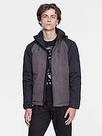 Куртка мужская демисезонная |  JACKET-100 серая