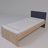 Кровать Х-Скаут Х-09 (90*200) графит мат