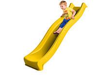 Горка спуск Yulvo для детской площадки 2,2 м. KBT Желтая, фото 2