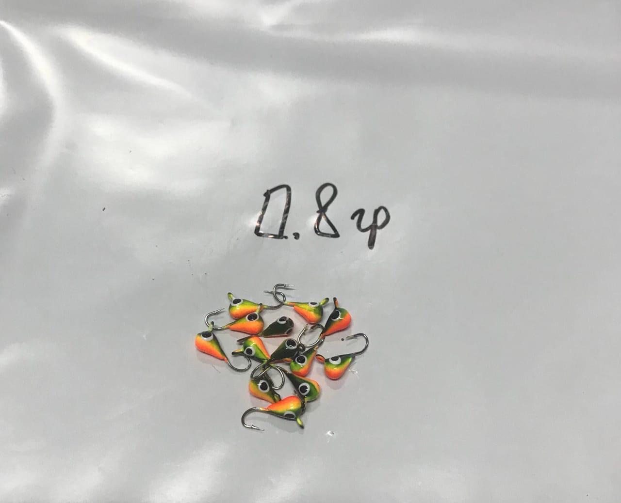 """Мормышка вольфрамовая """"Капля""""  0.8грам"""