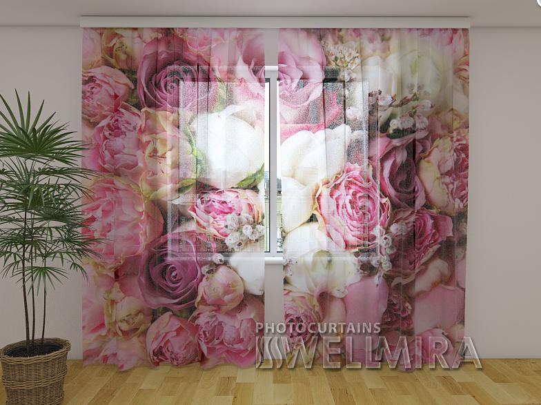 Фото Тюль Розовая мечта 250 см х 260 см