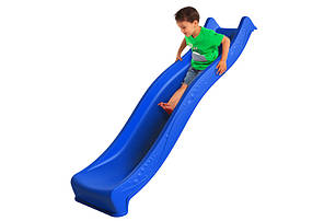 Горка спуск Yulvo для детей 2,2 м. KBT Синяя, фото 2