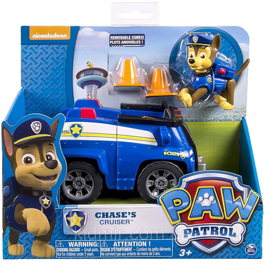 Щенячий патруль Гонщик Чейз и его полицейская машина Paw Patrol Spin Master