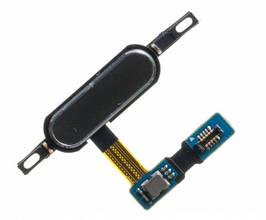 Шлейф Samsung T800 Galaxy Tab S 10.5, T801, T805 с кнопкой меню (Home), черного цвета