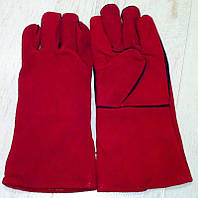 Краги сварочные (красные)
